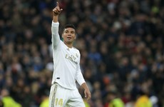 Casemiro the unlikely hero as Real Madrid edge Sevilla