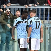 Italy international hits hat-trick as Lazio keep title chase alive