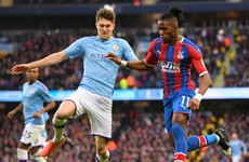 'Do not allow Zaha to run' - Pep Guardiola slams slack Man City