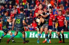 LIVE: Munster v Ospreys, Champions Cup
