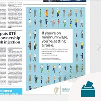 Fine Gael accused of 'buying the election' after government advert appears on front page of newspaper