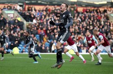 Pope saves Vardy penalty to help struggling Burnley to big win over Leicester