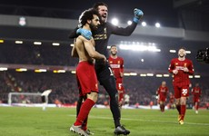 Van Dijk and Salah send Liverpool 16 points clear at the top