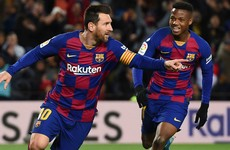 Messi ensures winning start for new Barcelona boss Setien