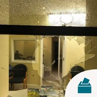 Gardaí investigating after brick thrown through FG Cork candidate's office window