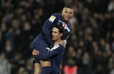 Cavani keen for exit but Atletico bid rejected, confirms PSG chief