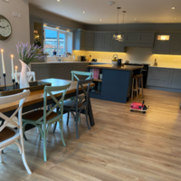 'The kids love sitting at the island': Niamh shares her spacious family-friendly kitchen