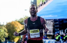 Scullion secures Olympic qualification with 5th-placed finish in Houston