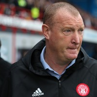 'I wrote a letter to the Scottish FA self-reporting my gambling' - Hamilton coach
