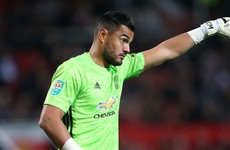 Man United goalkeeper Romero escapes unhurt from car crash