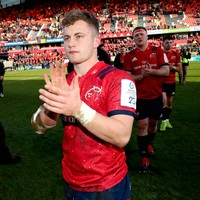 20-year-old Craig Casey's energy an exciting prospect for Munster