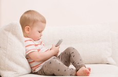 Am I being a bad parent... by using a smartphone to distract my cranky baby?