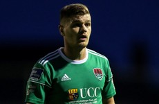 Former Cork City defender joins Derry City for 2020 season