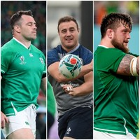 A new hooker and props applying pressure - Ireland's front row for the Six Nations