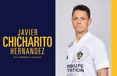Ex-Man United and Real Madrid striker Hernandez makes €9m MLS move to LA Galaxy
