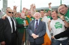 London calling: Michael D Higgins makes second trip to London