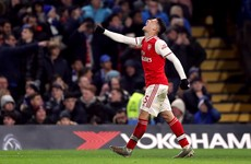 18-year-old on target as 10-man Arsenal frustrate Chelsea