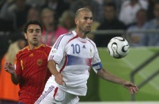 Happy 40th Zizou and three past meetings between France and Spain