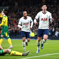 Spurs score first league goals of 2020 to end winless streak against Norwich