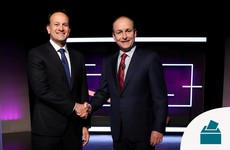 Personal drug use and a potential grand coalition: The key moments from the first head-to-head TV debate
