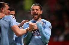 Rodriguez's rocket hands Man United fifth defeat in a month