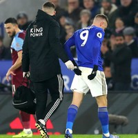 Vardy injury scare as striker limps off in Leicester's win over West Ham
