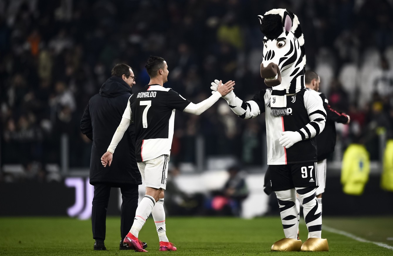 ronaldo scores 12th goal in 8 games to fire juventus into italian cup semi finals ronaldo scores 12th goal in 8 games to