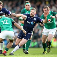 Scotland's Russell ruled out of Ireland game after breaking 'team protocol'
