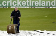 Rain cuts play short at Stormont