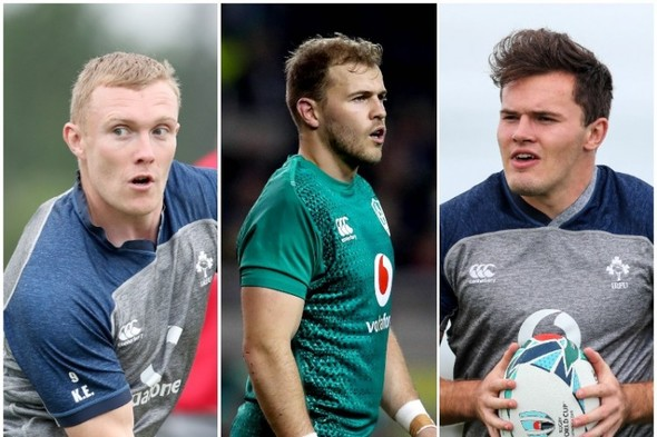 A new fullback and big wing calls - Ireland's back three for the Six Nations