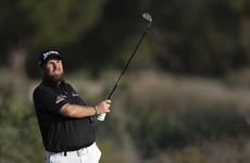 Lowry five off the lead at halfway mark in Dubai as Harrington squeezes inside cut