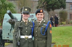 Pair make history as first ever mother-daughter duo to serve with the Defence Forces