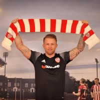 Derry snap up Norwegian striker after successful trial