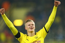 Haaland brings Dortmund goals tally to five in just his second substitute appearance