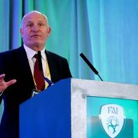 Gerry McAnaney elected new FAI president at EGM