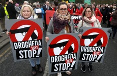 'Enough is enough': Thousands take part in rally against violence in Drogheda