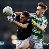 Galway's Oughterard beat 13-man Magheracloone to seal All-Ireland intermediate honours