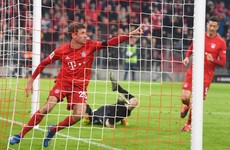 Rampant Bayern close gap to a point as leaders Leipzig suffer first defeat since October