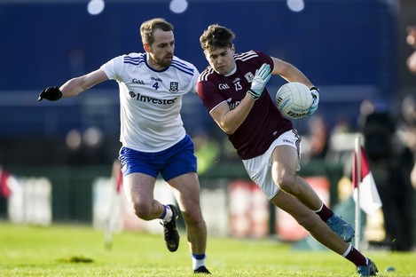 Robert Finnerty finished with 1-1 against Monaghan.