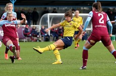 Katie McCabe's goal helps Arsenal eliminate last year's FA Cup finalists