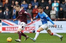 Hearts end 10-match winless run to deliver blow to Rangers' title hopes