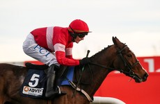 Stormy Ireland completes season hat-trick with victory at Naas