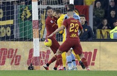 Lazio equalise in Rome derby after goalkeeper mistake, while Inter game ends in chaos