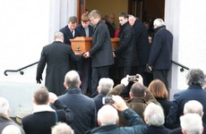 Tributes to 'leader and bridge-builder' Séamus Mallon at funeral mass in Co Armagh