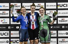 Kay bags bronze for Ireland at Track Cycling World Cup in Canada