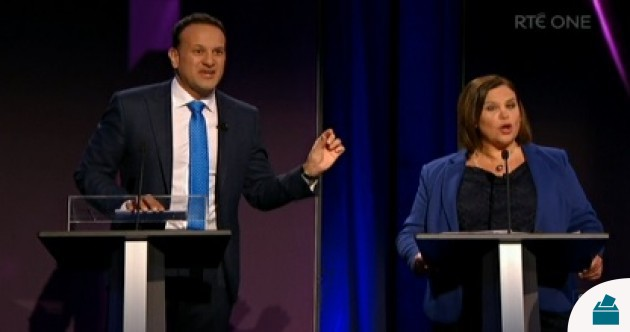 'There's a fair few nutters in every party': The key moments from the RTÉ leaders' TV debate