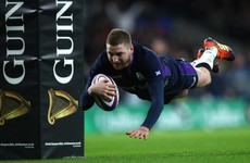 Finn Russell looks set for Scotland return – but not in time for the Ireland game