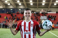 After eye-catching spell in Irish football, former Derry striker set for stint in League Two