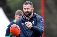 Farrell's Ireland 'want to be a team that the Irish public love watching'