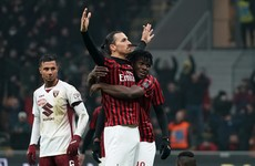 Ibrahimovic helps AC Milan book semi-final meeting with Juventus after six-goal extra-time thriller